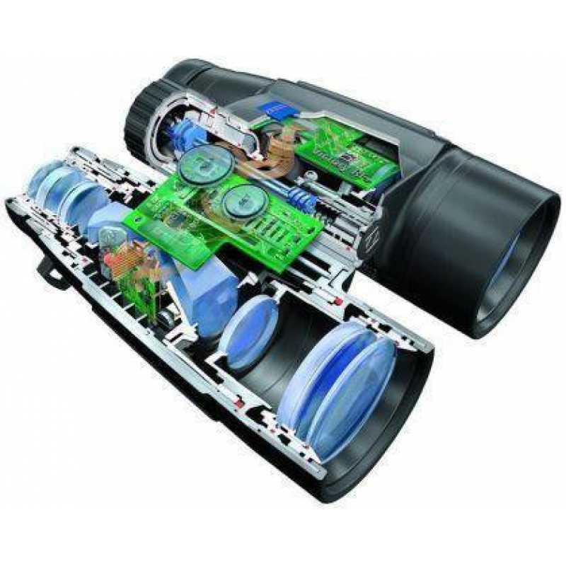 Бинокль-дальномер охотничий Zeiss Victory RF 10x56 T, Относительная яркость: 31,0, Сумеречное число: 23,7, Дис