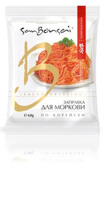 Заправка для моркови по корейски San Bonsai