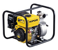 Мотопомпа бензиновая KGP30 KIPOR | Ø 80 мм, max 25 м, 55000 л/час