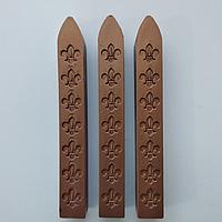 Сургучная палочка с фитилём (цвет коричневый)
