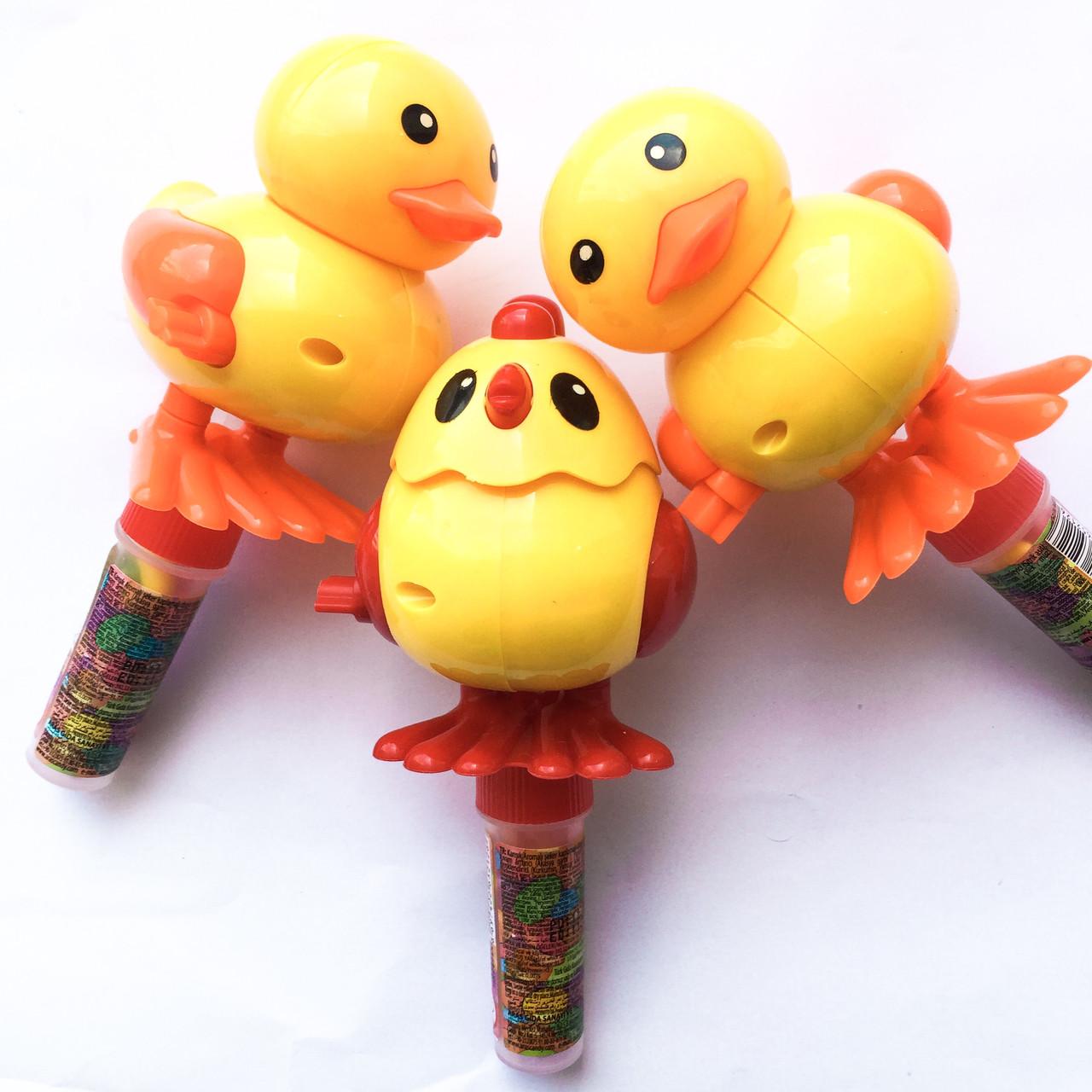 Игрушка птенчик с конфетами 10 гр