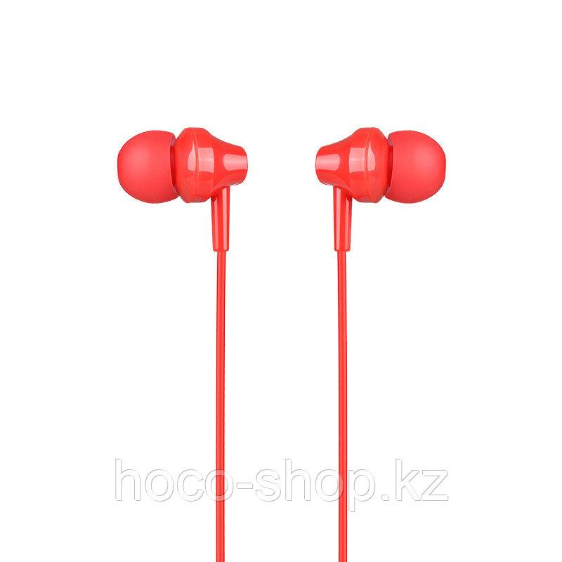 Наушники проводные вакуумные Hoco M14, Red