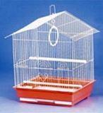 Клетка для мелких и средних птиц, модель 401 Gold, 35х28х46 см, золотая