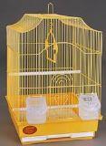 Клетка для мелких и средних птиц, модель А412, 34,5*28*43 см, крашенная