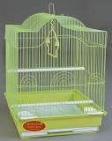 Клетка для мелких и средних птиц, модель 413, 34,5*28*46 см, крашенная, фото 1