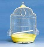Клетка для мелких и средних птиц, модель А328, d33,5*54 cm, крашенная, фото 1