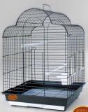Клетка для средних попугаев, модель 800, 52*41,5*71,5 cm, крашенная, фото 1