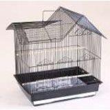 Клетка для средних попугаев, модель 606, 47,5*36*51 см, крашенная