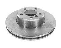 Тормозные диски Bmw 7  (E65) объем 3.0-4.0   (передние, Meyle, D324), фото 1
