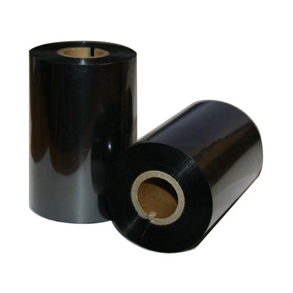 Zebra 02300BK11045 красящая лента Wax Black 110 мм/ 450 м