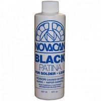 """Патина для олова, чёрная """"Novacan"""" 474 мл"""