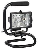 Прожектор ИО500П(переноска) галоген.черный IP54  ИЭК