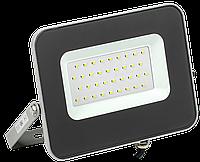 Прожектор СДО 07-30 светодиодный серый IP65 IEK