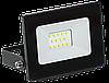 Прожектор СДО 06-10 светодиодный черный IP65 6500 K IEK