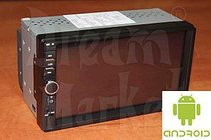Автомагнитола Android 7018B, 2DIN, 7 дюймов, Wi-Fi, GPS, ОЗУ 1Гб, память 16 Гб