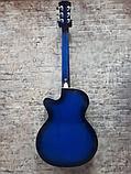 Акустическая гитара Joker J-3910S    BLUE, фото 2