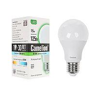 Лампа светодиодная Camelion А60/3000К/E27/15Вт, Тёплый