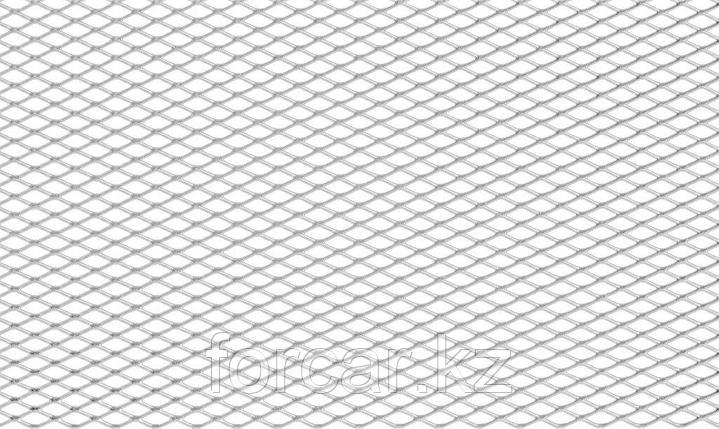 Сетка для защиты радиатора, алюм., яч. 10*4 мм (R10), 100*40 см, без покраски (1 шт.), фото 2