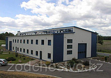 Строительство зданий ТЭЦ, заводов и цехов, магазинов по быстровозводимой технологии из металлоконструкций