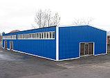 Строительство зданий ТЭЦ, заводов и цехов, магазинов по быстровозводимой технологии из металлоконструкций, фото 6