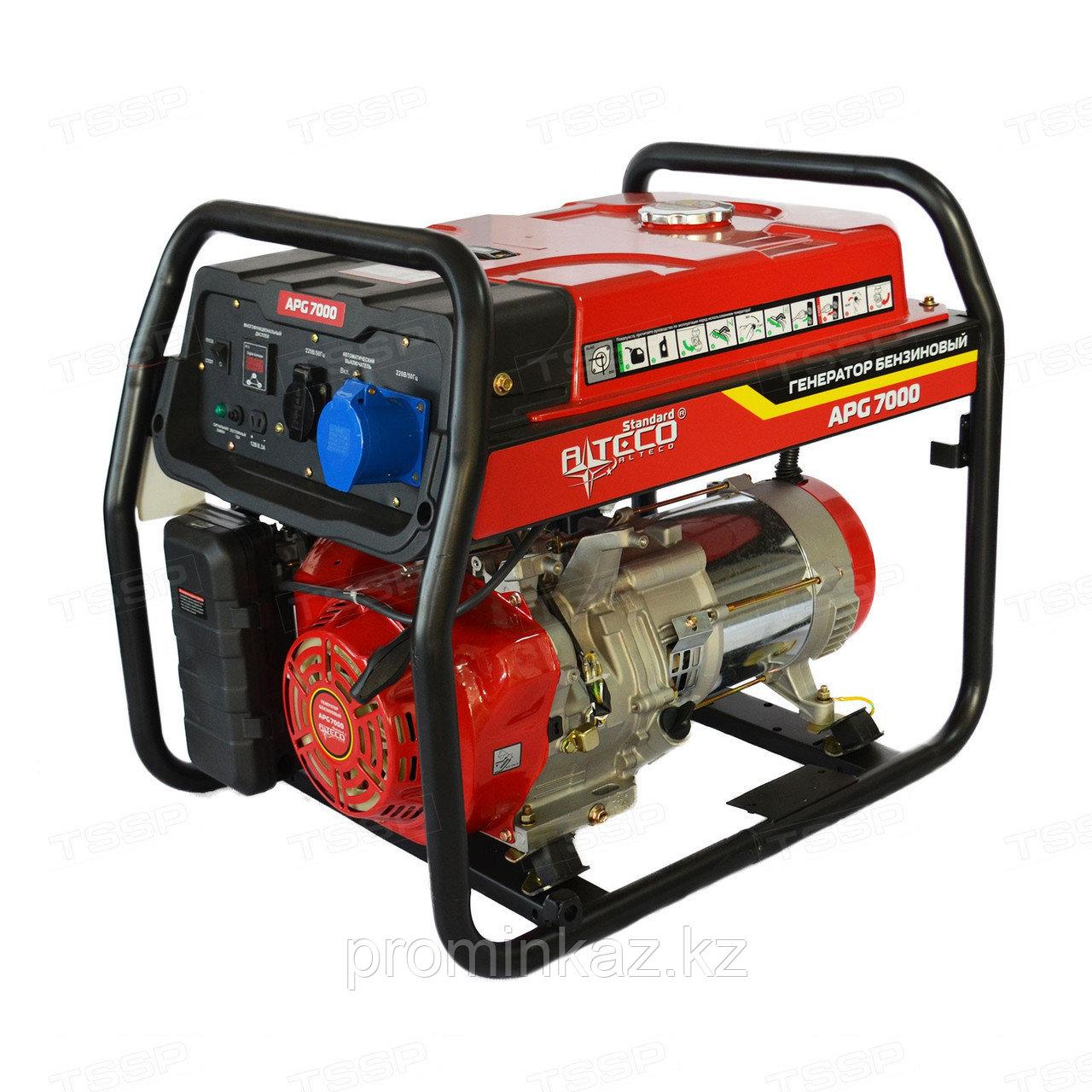 Бензиновый генератор ALTECO APG 9800E c АВР  - 7,5кВт-220В