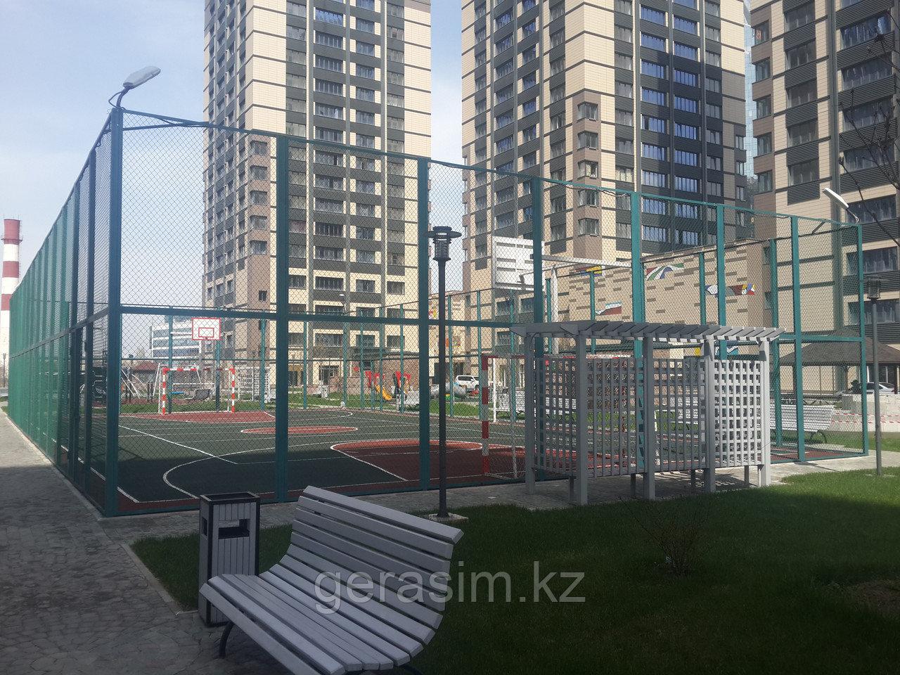 Ограждение для спортивных площадок, футбольных и волейбольных полей
