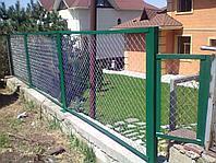 Заборы из сетки рабица, фото 1
