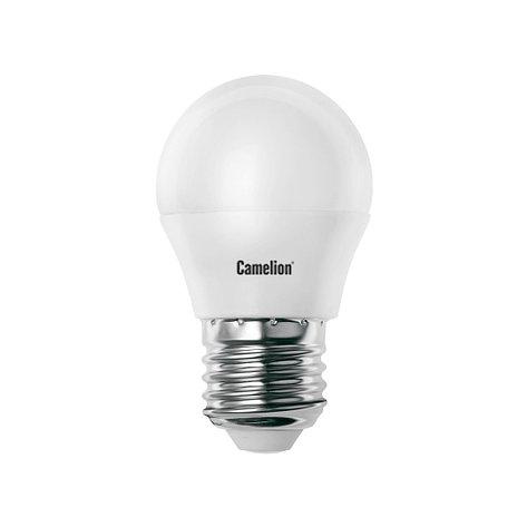 Лампа светодиодная Camelion G45/4500К/E27/7Вт, Холодный, фото 2