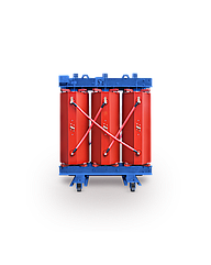 Трансформатор сухой с изоляцией из литой смолы типа TPZ, IP00, 630кВА, 6/10/0,4