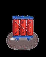 Трансформатор сухой с изоляцией из литой смолы типа TPZ, IP00, 1250кВА, 6/10/0,4