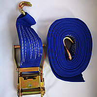Ремень стяжной 10т, для крепления груза с натяжителем, фото 1