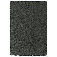Ковер длинный ворс ОДУМ 200х300 темно-серый ИКЕА, IKEA, фото 1