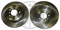 Тормозные диски BMW 5 (E60) объем 2.0-3.0 (задние, Optimal, D320), фото 1
