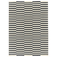 Ковер безворсовый СТОКГОЛЬМ 250х350 белый серый ИКЕА, IKEA , фото 1