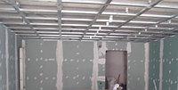 Как обшить гипсокартоном потолок