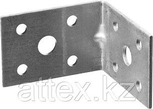 Крепежный угол усиленный, 35х50х50мм, 1шт, ЗУБР Мастер 310116-35-050