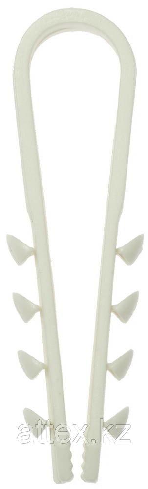Дюбель-хомут нейлоновый, 5 - 10 мм, 15 шт, ЗУБР Мастер 4-309146-05-10