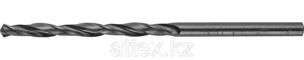 """Сверло ЗУБР """"ТЕХНИК"""" по металлу, 3,2х65мм, парооксидированное, быстрорежущая сталь 4-29605-065-3.2"""