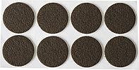 """Накладки STAYER """"COMFORT"""" на мебельные ножки, самоклеящиеся, фетровые, коричневые, круглые - диаметр 28 мм, 8 шт 40910-28, фото 1"""