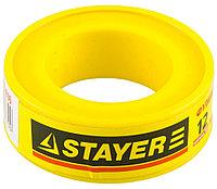 "Фумлента STAYER ""MASTER"", плотность 0,16 г/см3, 0,075ммх12ммх10м 12360-12-016"