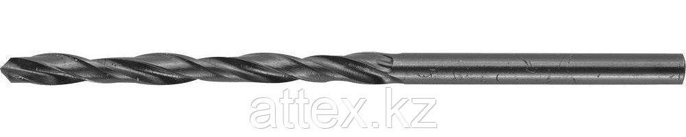 """Сверло ЗУБР """"ТЕХНИК"""" по металлу, 3,5х70мм, парооксидированное, быстрорежущая сталь 4-29605-070-3.5"""