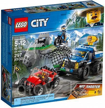 Lego City 60172 Погоня по грунтовой дороге, Лего Город Сити
