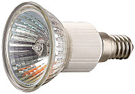Лампа галогенная СВЕТОЗАР с защитным стеклом, цоколь E14, диаметр 51мм, 50Вт, 220В SV-44835