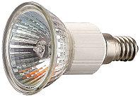 Лампа галогенная СВЕТОЗАР с защитным стеклом, цоколь E14, диаметр 51мм, 35Вт, 220В SV-44833