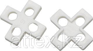 Крестики для кафеля, 8мм, ЗУБР 33811-8, 75шт