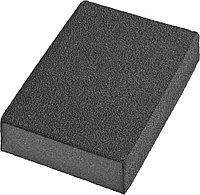 Губки шлифовальные DEXX четырехсторонняя, AL2O3 средняя жесткость, Р80, 100х68х26мм 35637-080