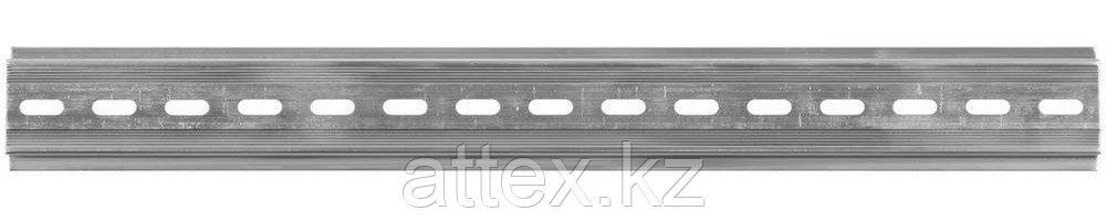 DIN-рейка СВЕТОЗАР, алюминиевая, 300мм 49815