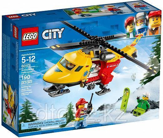 Lego City 60179 Вертолёт скорой помощи, Лего Город Сити
