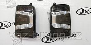 Фонари задние диодные чёрно-белые на Ниву 2121-21214,Урбан ТюнАвто