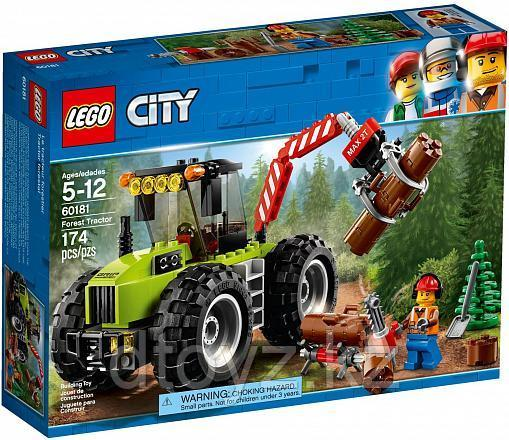 Lego City 60181 Лесной трактор, Лего Город Сити